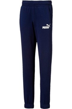 puma joggingbroek »essential logo sweatpants boys« blauw
