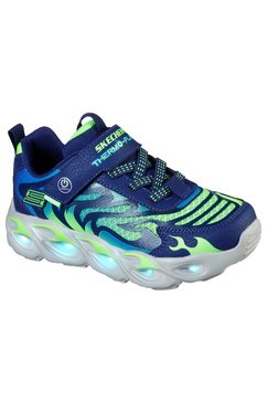 skechers kids sneakers »thermo-flash« blauw