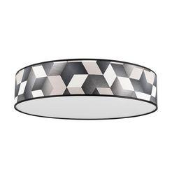 britop lighting plafondlamp »espacio« zwart