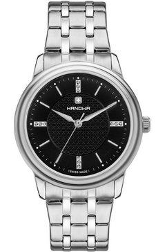 hanowa zwitsers horloge »emilia, 16-7087.04.007« zilver