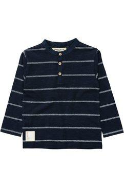 basefield shirt met lange mouwen blauw