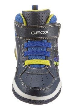 geox kids sneakers »blinkschuh inek boy« blauw