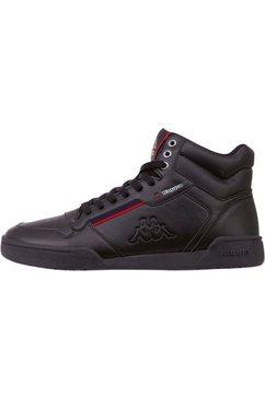 kappa sneakers »mangan« zwart