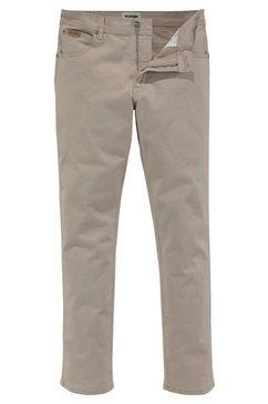 wrangler slim fit jeans »texas slim« bruin