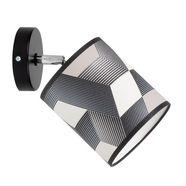 britop lighting wandlamp »espacio« zwart