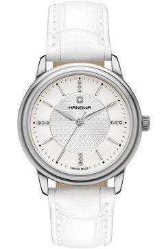 hanowa zwitsers horloge »emilia, 16-6087.04.001« wit
