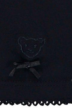 steiff shirt met lange mouwen  legging blauw