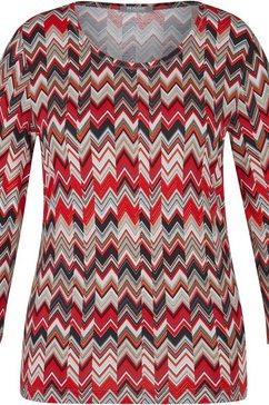 rabe shirt met ronde hals multicolor