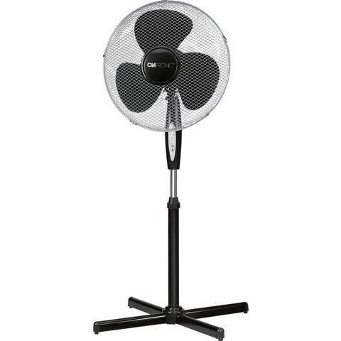 Clatronic VL 3741 Staande ventilator 45 W (Ã x h) 400 mm x 1250 mm Zwart