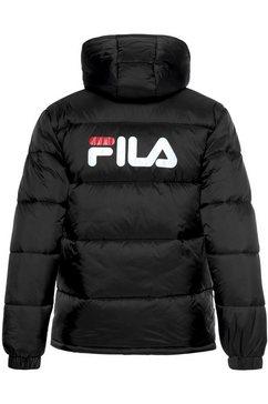 fila gewatteerde jas »scooter puffer jacket« zwart