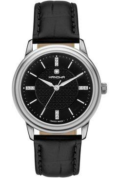 hanowa zwitsers horloge »emilia, 16-6087.04.007« zwart