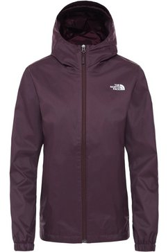 the north face regenjack »quest« paars