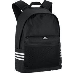 adidas performance »classic backpack 3 stripes mesh« sportrugzak zwart