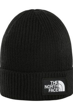 the north face gebreide muts zwart