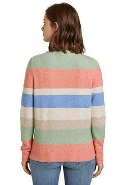 tom tailor denim gebreide trui multicolor