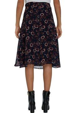 tommy hilfiger rok in a-lijn »amia knee length skirt« blauw