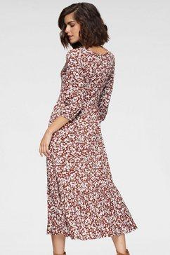 tamaris midi-jurk rood