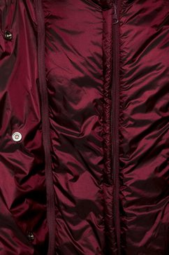 herrlicher gewatteerde jas »tamsin« rood