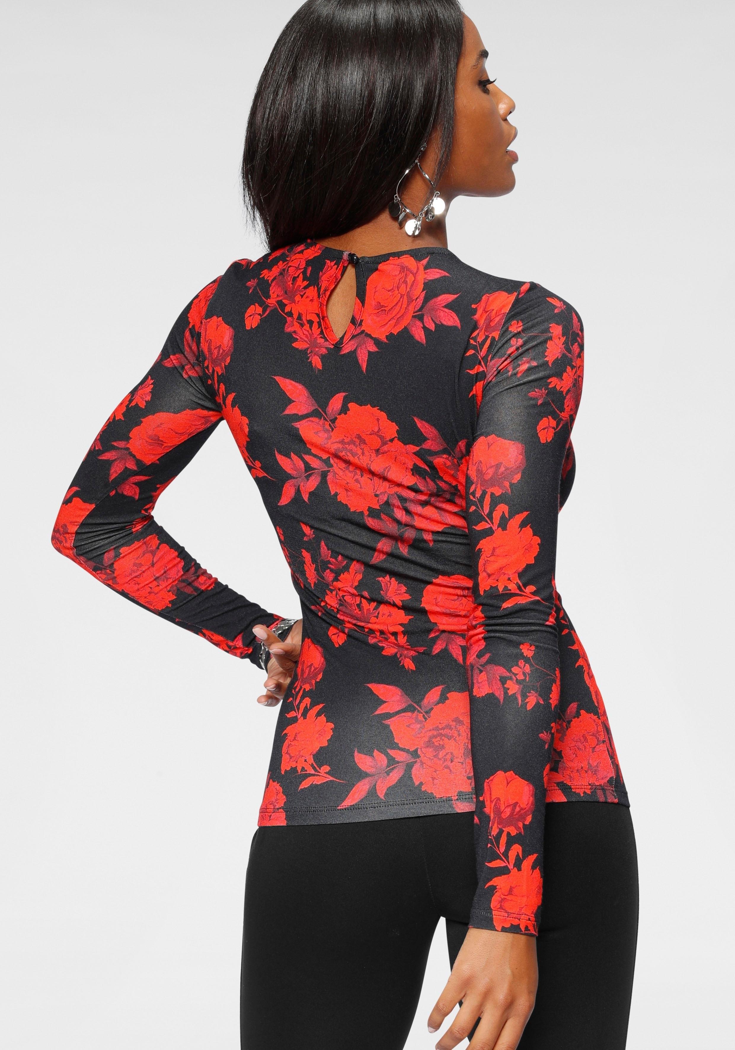 melrose shirt met lange mouwen voordelig en veilig online kopen