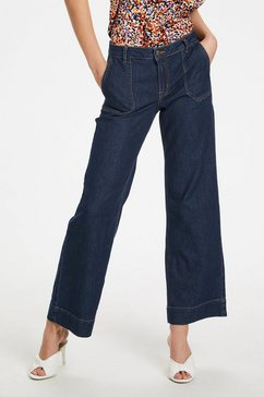 denim hunter jerseybroek »dhmay high flared« blau