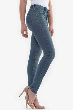 le temps des cerises skinny fit jeans »pulp« blauw
