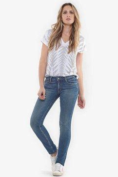 le temps des cerises rechte jeans »300-16« blauw
