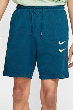 nike trainingsshort »men's french terry shorts« blauw
