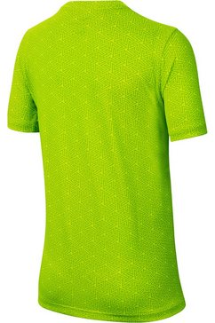 nike functioneel shirt »boys tee« groen
