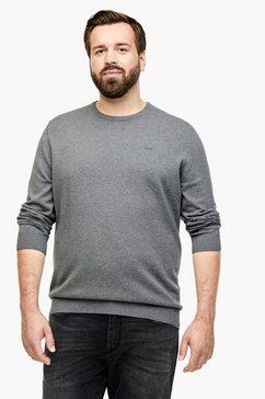 s.oliver fijngebreide trui grijs
