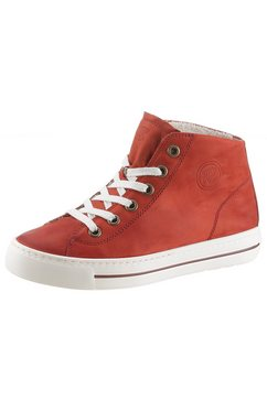 paul green plateausneakers rood