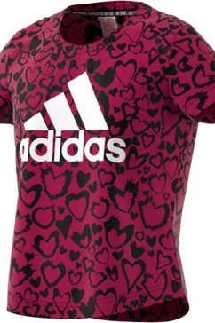 adidas performance t-shirt »girls must have graphic tee« multicolor