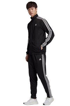 adidas performance trainingspak athletics tiro (set, 2-delig) zwart