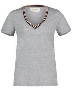 cartoon shirt met v-hals »mit v-ausschnitt« grijs