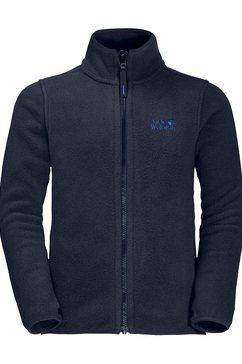 jack wolfskin fleecejack »baksmalla jacket kids« blauw