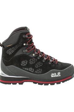 jack wolfskin trekkingschoenen »wilderness peak texapore mid m« zwart