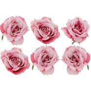 kerstboomversiering op clip »rosen« roze