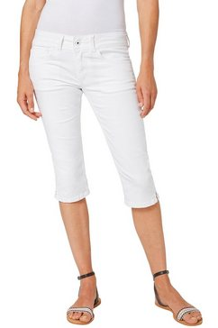 pepe jeans capri jeans »saturn crop« wit