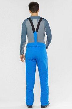 salomon skibroek »stance« blauw