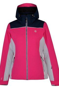 dare2b ski-jack »damen skijacke validate wasserfest« roze