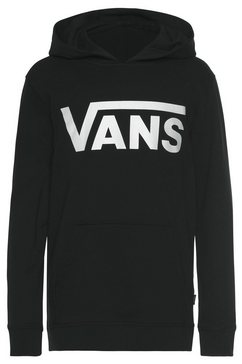 vans hoodie »vans classic po ii boys« zwart