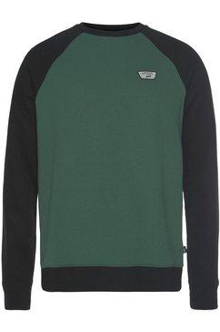 vans sweatshirt »rutland iii« groen