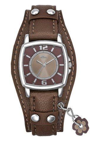 s.Oliver SO1943LQ Horloge Bruin