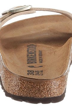 birkenstock slippers »madrid« goud