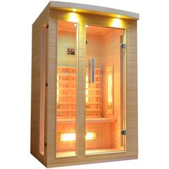 welltime »y204« infrarotkabine beige