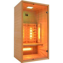 welltime »9101c« infrarotkabine beige