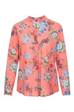 seidensticker klassieke blouse »schwarze rose« roze