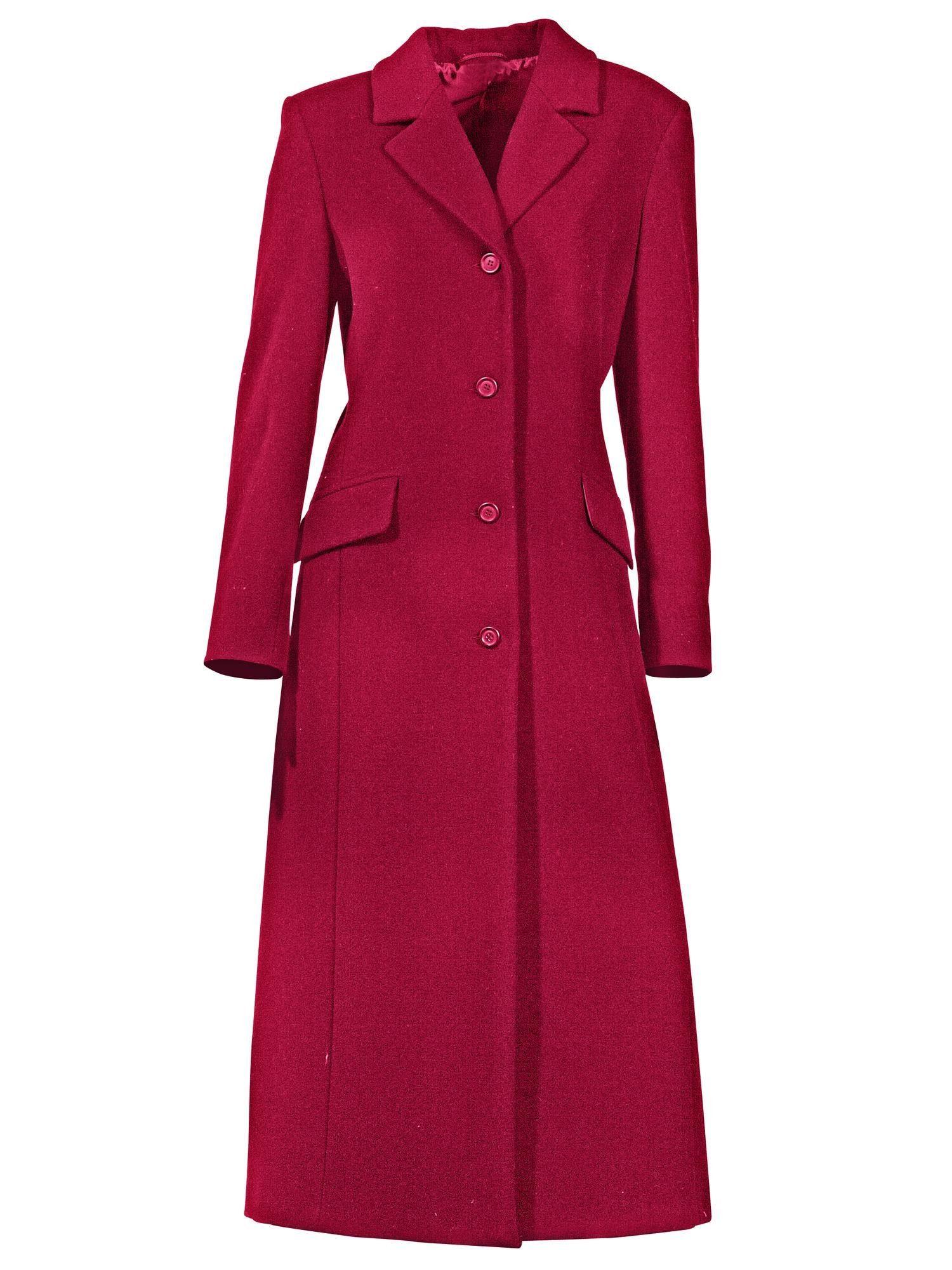 Dames Mantels Sale Jas Wol Vrouwen Herfst Lang Wollen Doek Blauw Roze