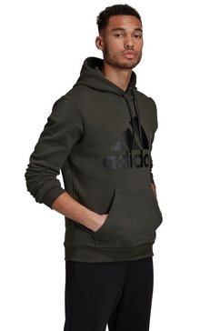 adidas performance hoodie »must have batch of sports po fl« groen