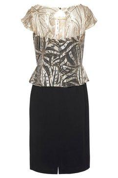 select! by hermann lange kanten jurk zwart