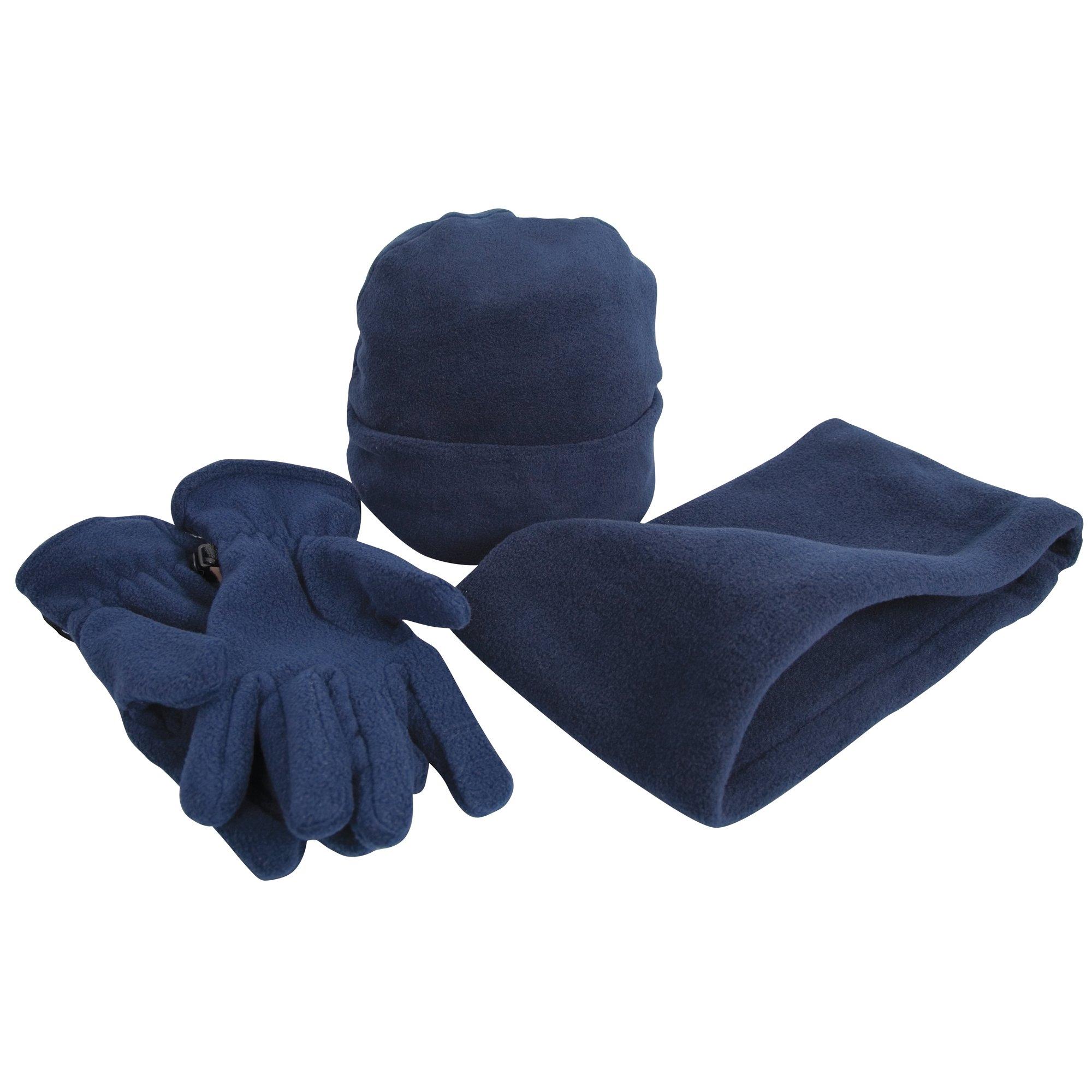 Result gebreide muts »Unisex Active Fleece Winter-Set mit Mütze, Handschuhen und Halswärmer , Anti-Pilling« nu online bestellen